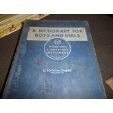 WEBSTER'S ELEMENTARY DICTIONARY A DICTIONARY FOR BOYS AND GIRLS