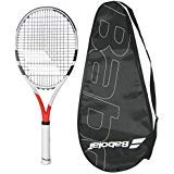 Babolat 2017 Boost Strike Tennis Racquet - STRUNG with COVER (4-1/4)