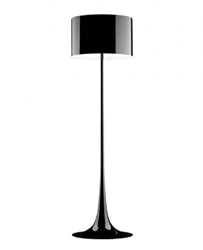 Flos Spun Light - Spun Light F Floor Light - 220 - 240V (for use in Australia, Europe, Hong Kong etc.), glossy black