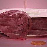 Krafty Klassics 1 Roll of Premium Sheer Organza Ribbon (1/4