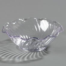 Clear Clear SAN Tulip Berry Dish 5 Ounce - 24 per case