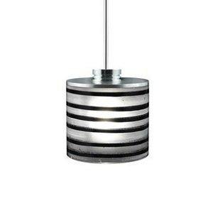 (Jesco Lighting QAP702-BK/SN Quick adapt low voltage pendants - Ringo - Phuzed / Boiled Cylinder)