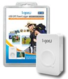 i-gotU GT-120 USB GPS Travel Logger w/Blog Software - Record and Trace outdoor activity on 3D Map!