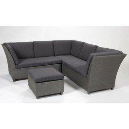 Harbo Rattan Garden Corner Sofa Set