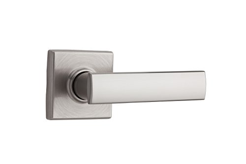 Kwikset Vedani Half-Dummy Lever Lever in Satin Nickel (Dummy Push Bar)