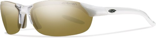 Mirror Ignitor Clear Lens - Smith Optics Parallel Sunglasses, Pearl Frame, Bronze Mirror/Ignitor