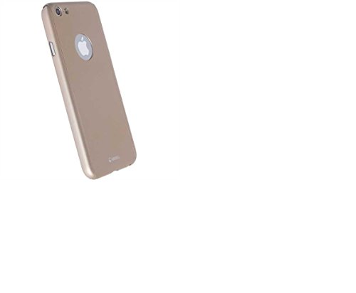 Krusell Arvika 4.7 Cover Gold - mobile phone cases
