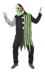 [Cleaver The Clown Costume Adul] (Spooky Clown Costumes)