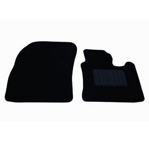VW Caddy 2004 Onwards Fully Tailored Black Van Car Floor Mats Carpets 2pc Set