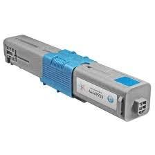 Okidata Genuine Brand Name, OEM 44469703 Type C17 Cyan Toner Cartridge (3K YLD) for C310DN, C330DN, C510DN, C530DN, MC351DN, MC361 Color MFP, MC361DN, MC362W,MC561 Color MFP, MC561DN Printers ()