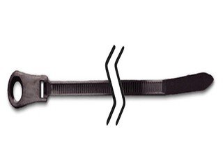 7.5 Inch Mounting Cable Tie Black 50 Lb #10 Screw Size 1000/Bag by AYT