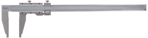 Fowler 52-085-012 Stainless Steel Master Vernier Caliper with Stain Chrome Finish, 12