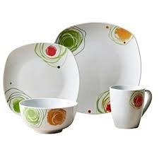 Arcadia Porcelain Dinnerware Services for 4