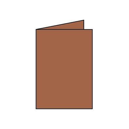 Rössler Papier - - Paperado-Karte DIN A6 hd, Haselnuss B07CX6FX8M | Günstigstes