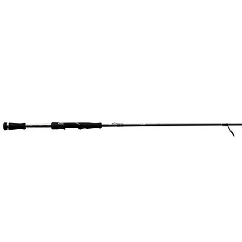 13 Fishing One 3 Fate Chrome M Spinning Rod, 7.3', Chrome