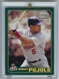 2006 Topps Albert Pujols Rookie of The Week - MLB Baseball Card (Rookie Card Pujols Albert)