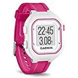 (Garmin Forerunner 25, Small - White and Pink (Renewed))