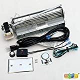 (bbq factory Standard Sized BLOT Replacement Fireplace Blower Fan KIT for Monessen, Hearth Systems, Martin, Majestic, Hunter)