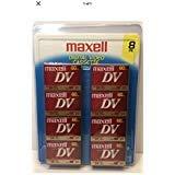 Maxwell mini dv tapes 60/sp 90/lp 8 pack