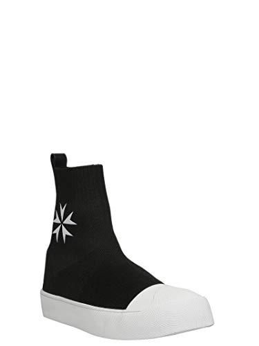 Herren Top Hi Sneakers BCT266H9006524 Barrett Schwarz Neil Stoff FYwxqU5AcH