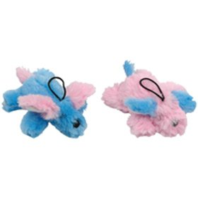 Vo-Toys Tiny Tails Shaggy Pups 5in Assorted Dog Toy, My Pet Supplies