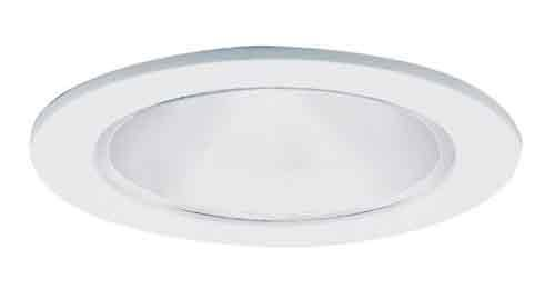 Cone Reflector White Trim - 6