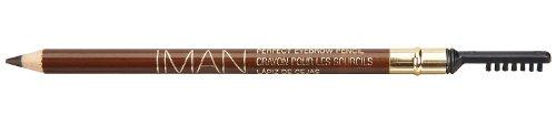 Iman Cosmetics Perfect Eyebrow Pencil, Blackest Brown