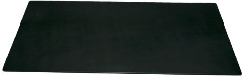 Dacasso Black Leather Desk Mat, 34-Inch by 20-Inch by Dacasso