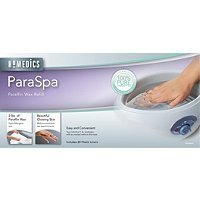 Homedics, Paraffin Wax refill, Perfect for Foot bath, Sooths Tired Feet, 2 lbs - Clear Pearls -