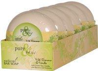 Bar Soap Wild Banana - PURE & BASIC BAR SOAP,WILD BANANA/VAN, 6.4 OZ CASE_6