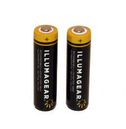Halo Light Personal Active Safety System- Lithium ion Battery 2-Pack by Illumagear