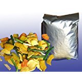Dried Mixed Vegetable Chips, 3 lbs Pack of 3