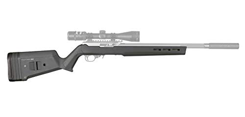 Magpul Hunter X-22 Stock for Ruger 10/22, Gray (Best Barrel Length For Ruger 10 22)