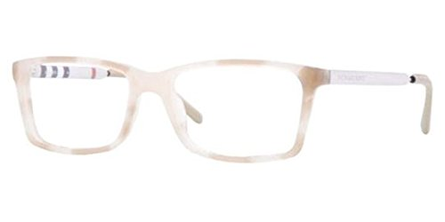 Burberry BE2159Q Eyeglasses-3427 Beige Havana-54mm