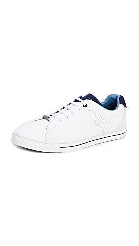 (Ted Baker Men's Plowns Sneaker, White, 12 Regular US)