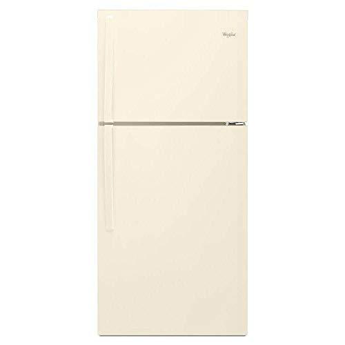 Bisque Top Freezer Refrigerator - Whirlpool WRT519SZDT 19.2 Cu. Ft. Bisque Top Freezer Refrigerator