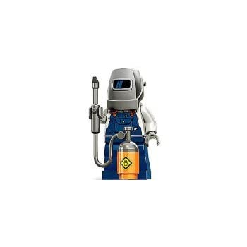 LEGO Minifigures Series 11 Welder Mini Figure