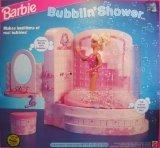 Barbie BUBBLIN' SHOWER BATH Playset