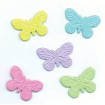 Mix Eyelets Scrapbooking - EYELET OUTLET Brads, Butterfly Mix 12/Package