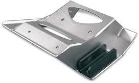 Steel Plates Stainless Skid Racing - Lonestar Racing 21P42330 Stainless Steel Skid Plate for Yamaha Raptor 700
