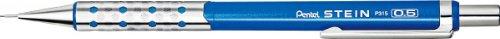 Pentel Ain - Portaminas, 0,3 Mm, Color Azul Metalizado