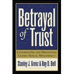 Betrayal of Trust (2nd, 01) by Grenz, Stanley J - Bell, Roy D [Paperback (2001)]