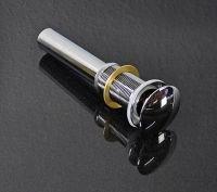 Pop-Up Excenter-Garnitur Ablaufgarnitur Waschbecken St/öpsel Ablaufventil ohne /Überlauf Messing verchromt
