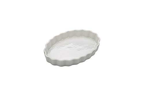 (BIA Cordon Bleu - Set of 4-8 Ounce Individual White Porcelain Quiche or Crème Brulee Dishes - 7