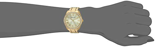 Kenneth Cole New York Women's Classic Stainless Steel Analog-Quartz Watch with Alloy Strap, Gold, 17.9 (Model: KC50664001)