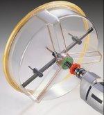 Hle Pro X-425 Pro Twin Blade Hole Saw Kit: Adjusts to cut...
