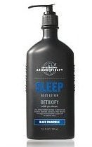 Bain & Body Works camomille noir 6,5 Oz Lotion aromathérapie sommeil détoxifier