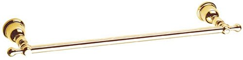 Danze D443411PBV Opulence Towel Bar, 18-Inch, Polished Brass -