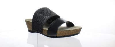 Munro New Womens Riviera Black Shimmer Heels Size 6 (C)