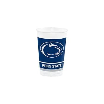 70377fed85f 96 NCAA Penn State Nittany Lions Plastic Drinking Tailgate Party Cups -20  Ounces